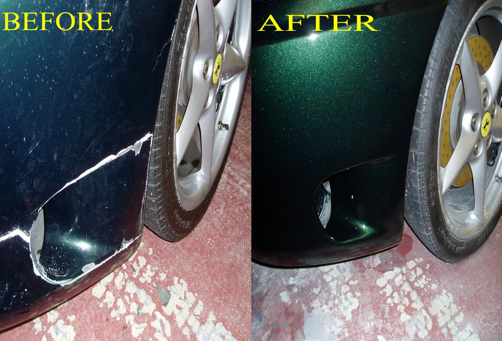 QUALITYSMART CAN REPAIR EVEN HIGH END CARS LIKE FERRARI WHICH HAVE FIBRE GLASS BUMPERS WE ARE EXPERTCAT MATCHING ANY COLOUR ON ANY CAR FROM BIRMINGHAM TO SOLIHULL AND TELFORD TO WORCESTER QUALITYSMART PROVIDE A QUALITY SERVICE AT YOUR CONVENIENCE.