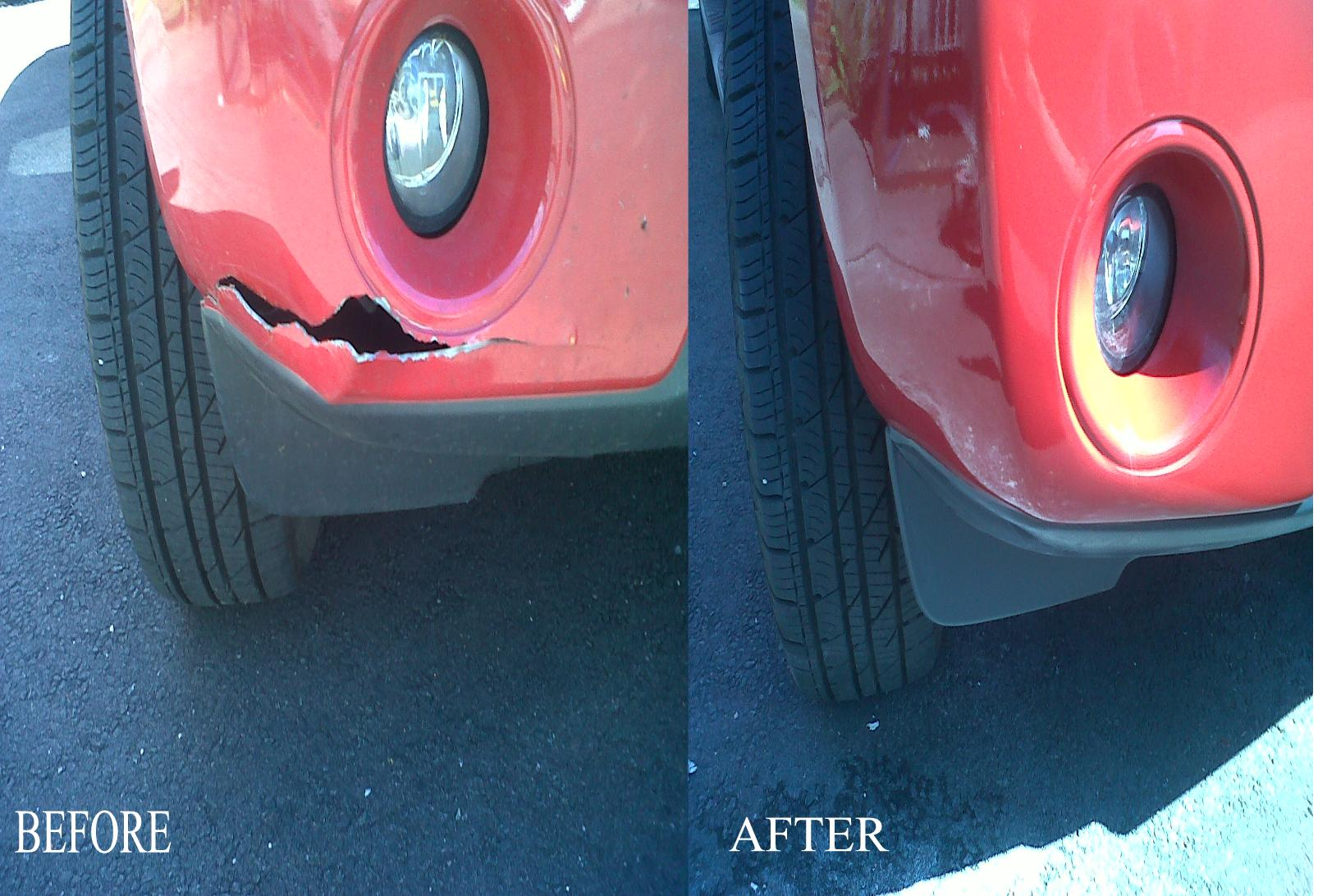CRACKED SPLIT DENTED BUMPER REPAIRS IN BIRMINGHAM WOLVERHAMPTON SOLIHULL WALSALL TELFORD .