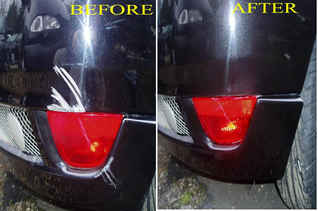 BUMPER SCUFF REPAIR IN BIRMINGHAM AND THE WEST MIDLANDS TEL:01562885998 OUR BUMPER SCUFF REPAIR SERVICE IN BIRMINGHAM INCLUDES ANY COLOURCODED BUMPER OR TEXTURED PLASTIC BUMPER ALSO PLASTIC CAR TRIM SCUFFED CAR WINGS ALL REPAIRED ON SITE SAME DAY.