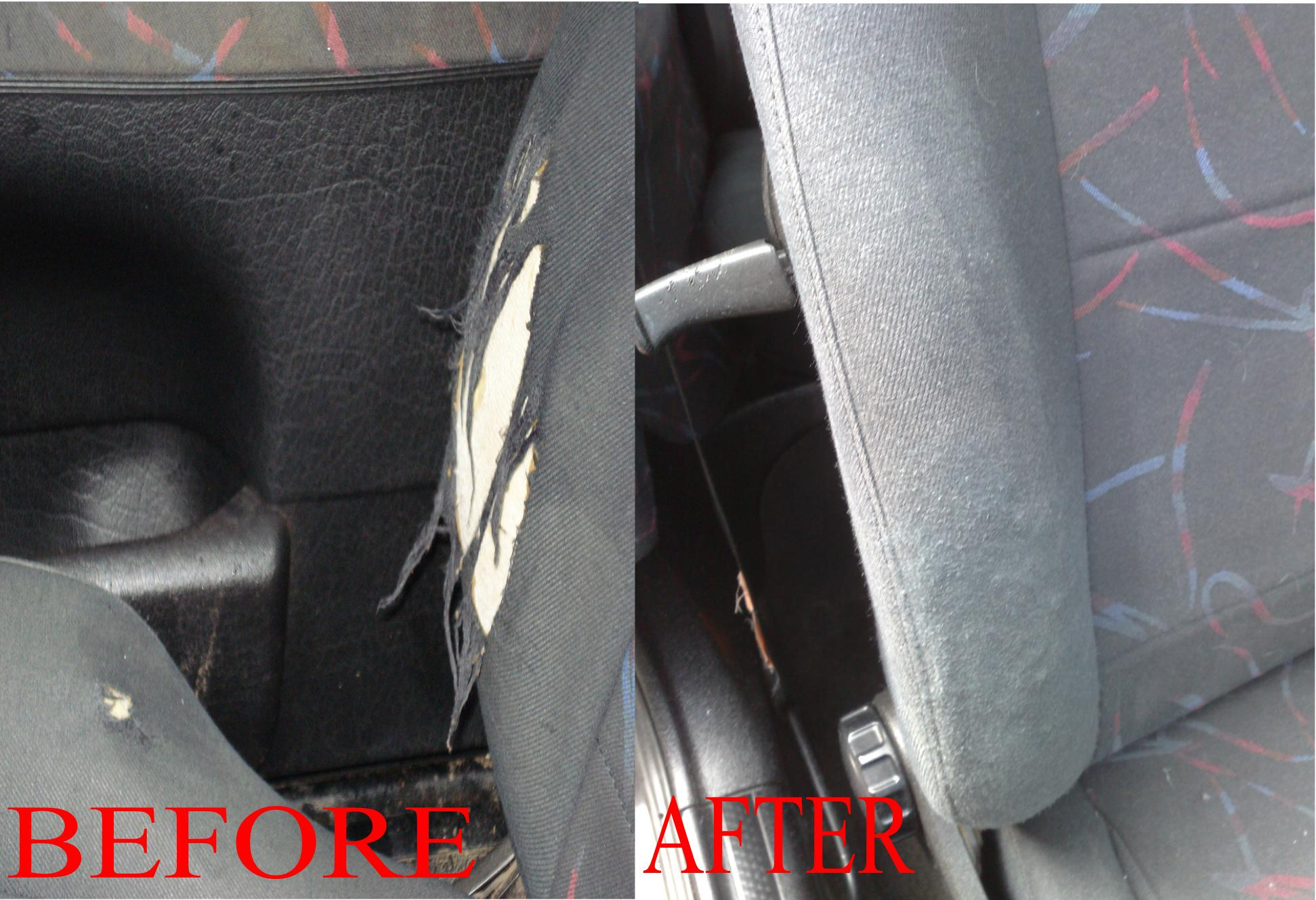 CAR SEAT AND HEADLINING REPAIRS WESTMIDLANDS.