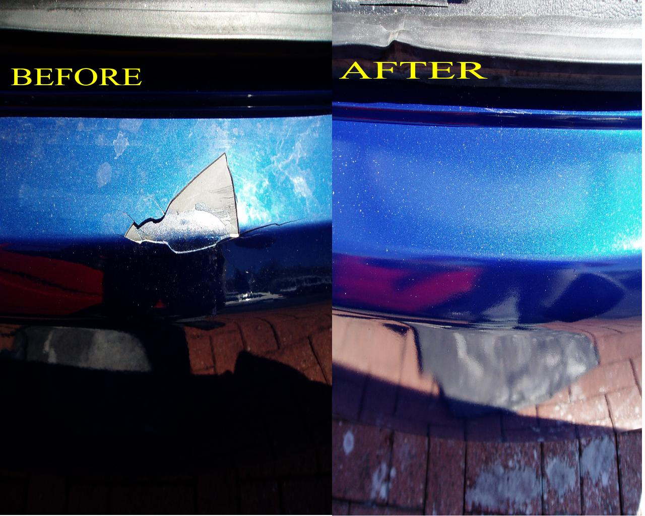 PAINT DAMAGE ON BUMPERS ALSO REPAIRED BY QUALITYSMART IN BIRMINGHAM SOLIHULL WORCESTER AND THE WEST MIDLANDS